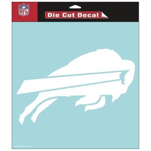 "BUFFALO BILLS CAR HOUSE 8""X 8"" DIE CUT ULTRA CLEAR FILM DECAL NFL FOOTBALL"