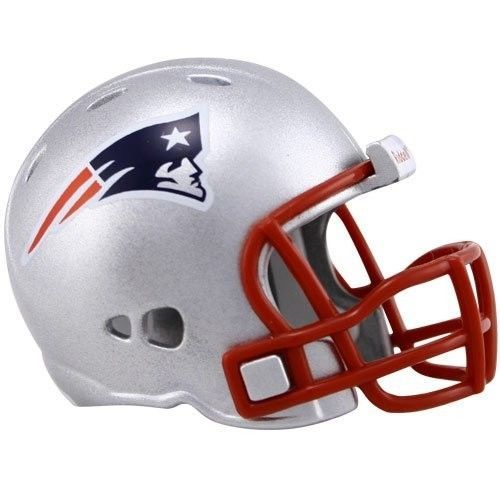 "2 NEW ENGLAND PATRIOTS POCKET PRO HELMET 2"" SIZE  Made By RIDDELL! NFL FOOTBALL"