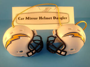 SAN DIEGO CHARGERS CAR/HOUSE NFL FOOTBALL HELMET KNOCKERS-Hang from Anything!