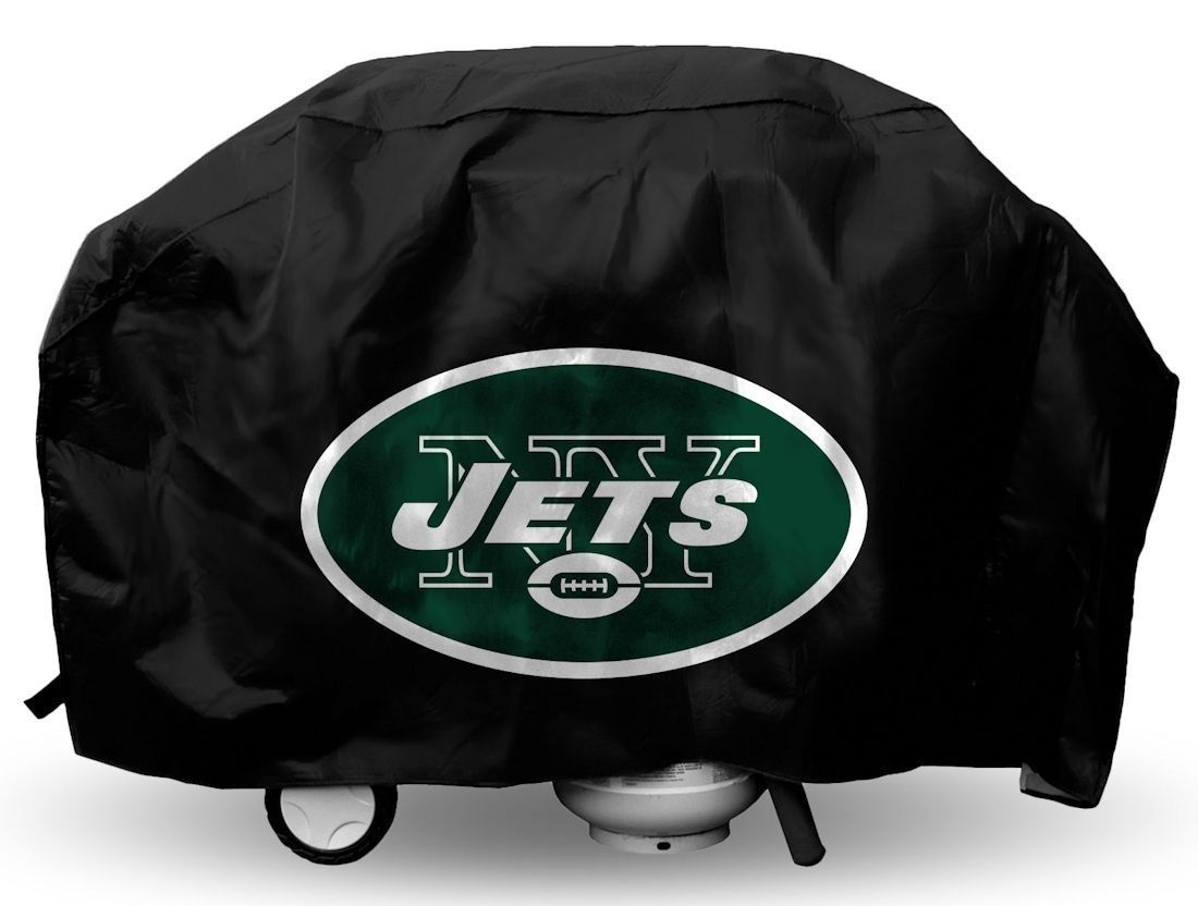 NEW YORK JETS ECONOMY BARBEQUE BBQ GRILL COVER NFL FOOTBALL