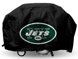 NEW YORK JETS ECONOMY BARBEQUE BBQ GRILL COVER NFL FOOTBALL - $24.29