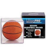 BASKETBALL CRYSTAL CLEAR REGULATION SIZE DISPLAY CASE NBA NCAA COLLEGE Y... - $23.73