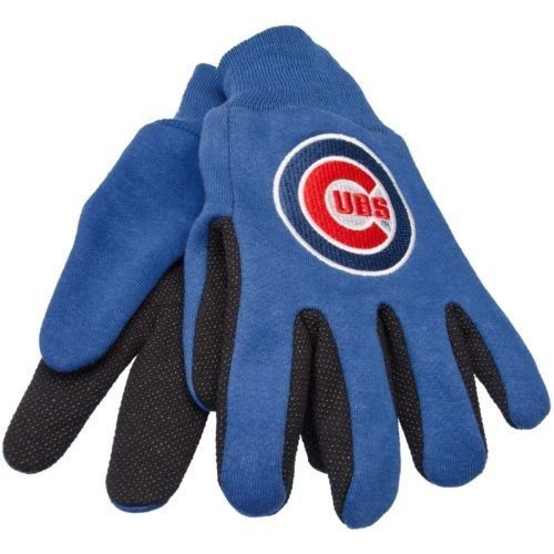CHICAGO CUBS TEAM TAILGATE GAME DAY PARTY UTILITY WORK GLOVES MLB BASEBALL