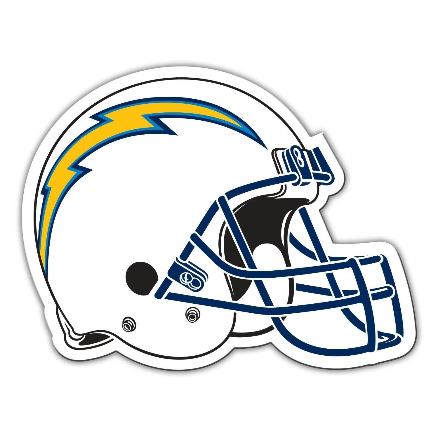 "SAN DIEGO CHARGERS *BIG* 12"" MAGNET for CAR AUTO FRIDGE METAL NFL FOOTBALL"