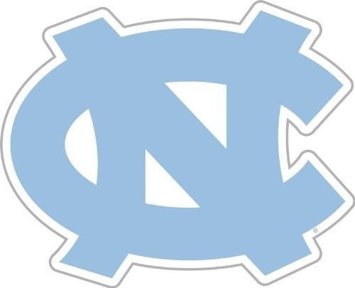 "NORTH CAROLINA TAR HEELS *BIG* 12"" MAGNET CAR AUTO FRIDGE REFRIGERATOR METAL"