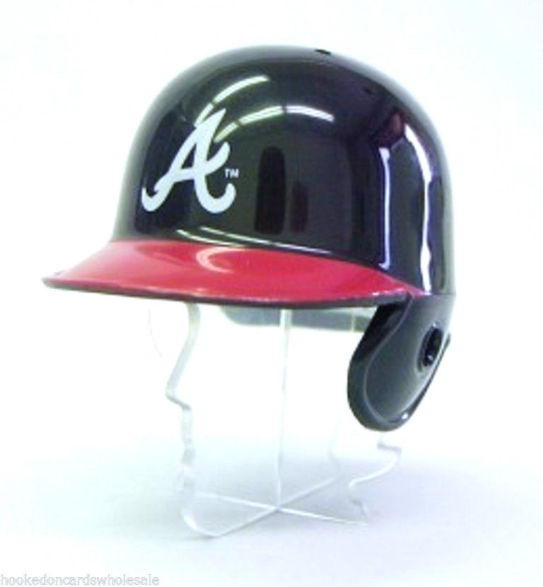 "ATLANTA BRAVES POCKET PRO HELMET 2"" SIZE MLB BASEBALL Made By RIDDELL!"