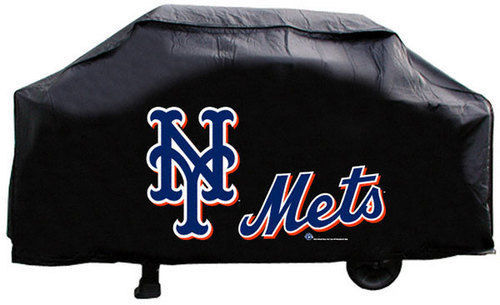 NEW YORK METS ECONOMY BBQ BARBEQUE GRILL COVER COOKING GRILLING MLB BASEBALL