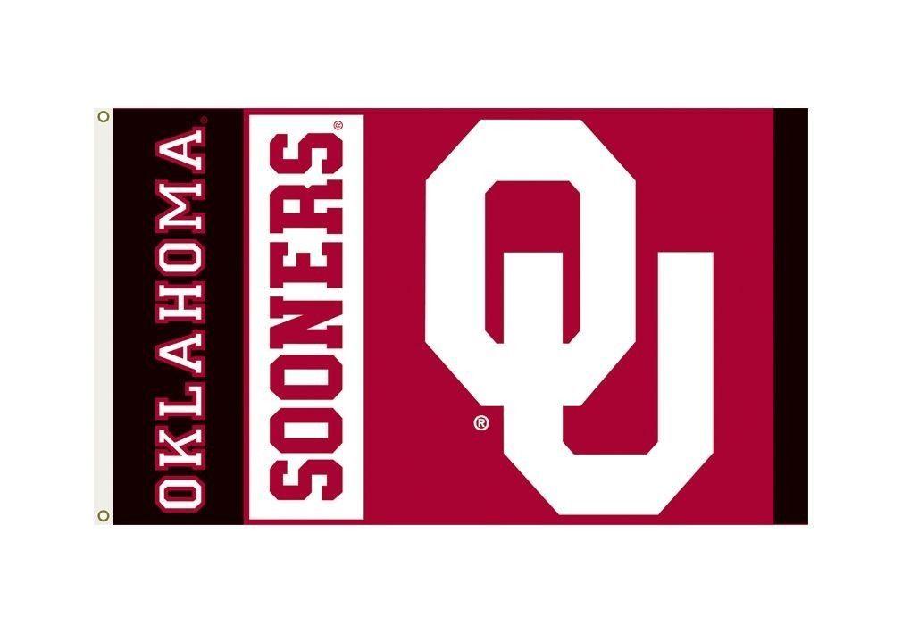 *BIG* OKLAHOMA SOONERS PREMIUM 3' X 5' FLAG BANNER WALL DECORATION NCAA