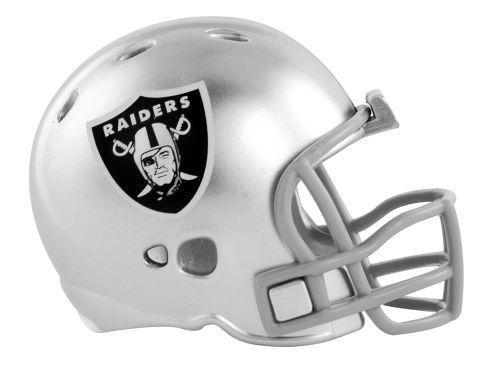 "2 OAKLAND RAIDERS POCKET PRO HELMET 2"" SIZE  Made By RIDDELL! NFL FOOTBALL"