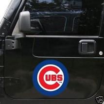 "*BIG* 12"" CAR MAGNET CHICAGO CUBS MLB BASEBALL - $12.16"