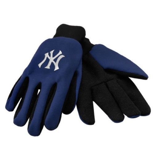NEW YORK YANKEES TEAM TAILGATE GAME DAY PARTY UTILITY WORK GLOVES MLB BASEBALL