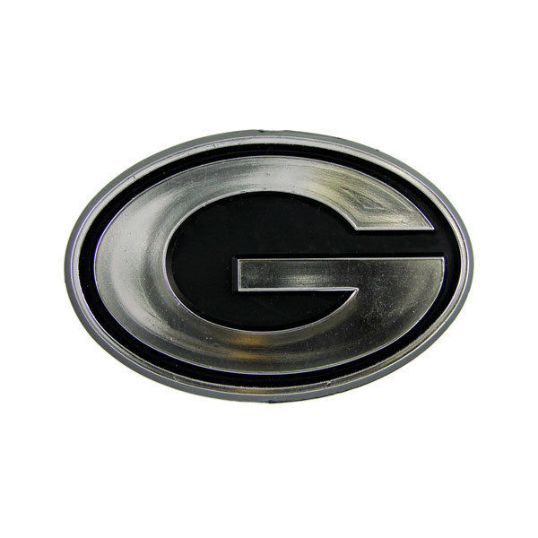GREEN BAY PACKERS CAR AUTO 3-D CHROME SILVER TEAM LOGO EMBLEM NFL FOOTBALL