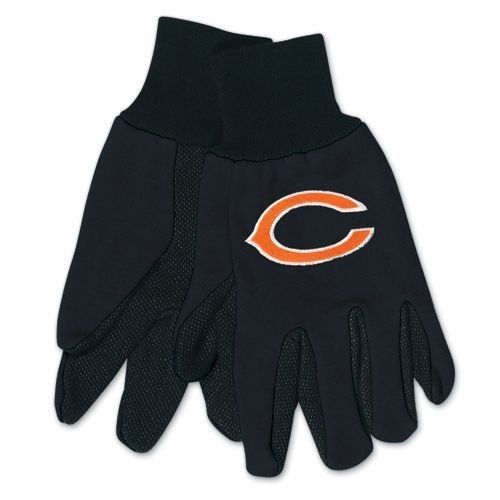 CHICAGO BEARS TAILGATE GAME DAY PARTY UTILITY WORK GLOVES NFL FOOTBALL #1