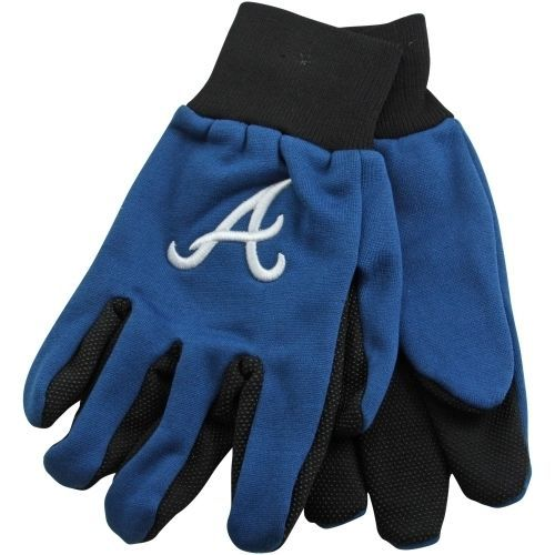 ATLANTA BRAVES TEAM TAILGATE GAME DAY PARTY UTILITY WORK GLOVES MLB BASEBALL