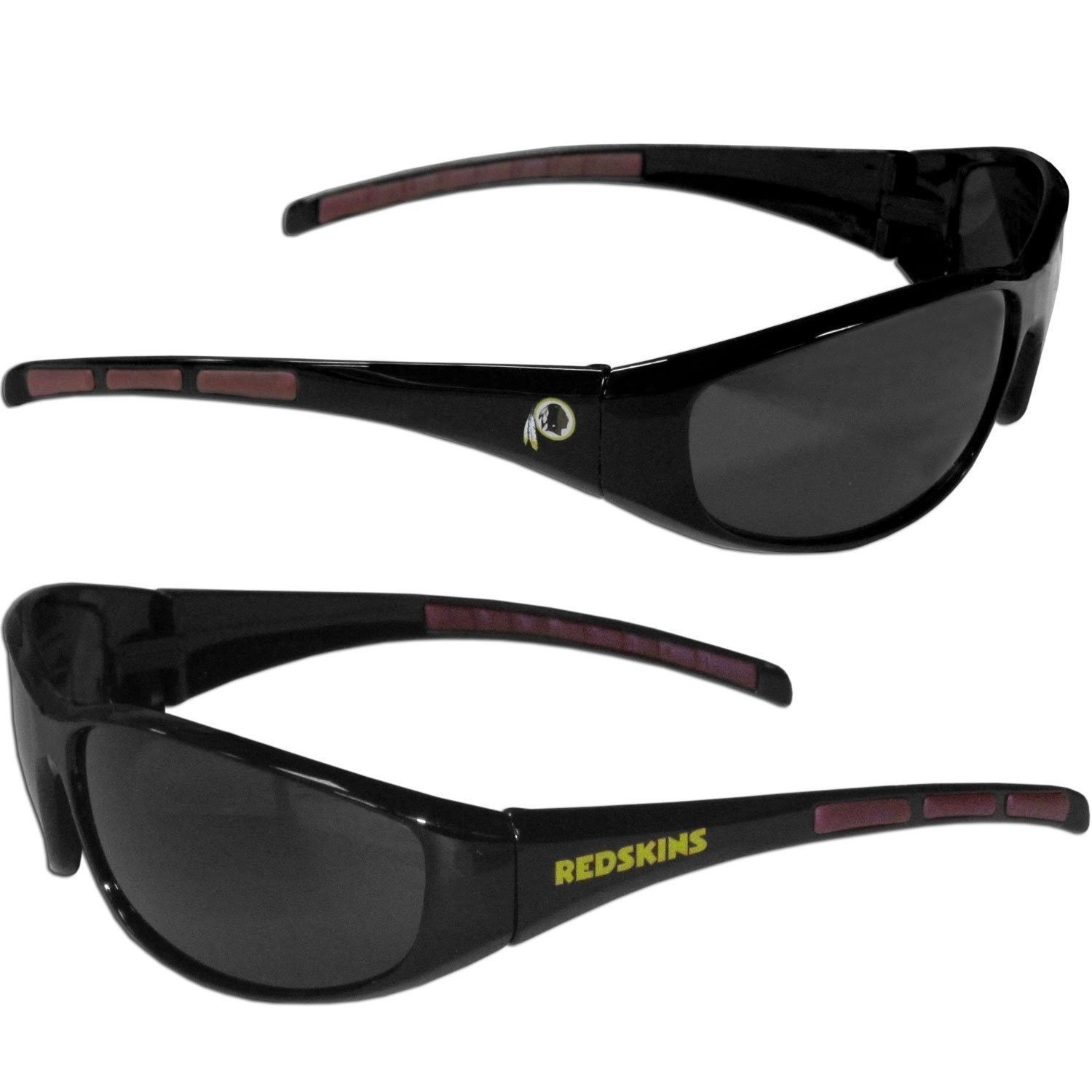 WASHINGTON REDSKINS UV 400 WRAP SUNGLASSES TEAM LOGO NFL FOOTBALL #1