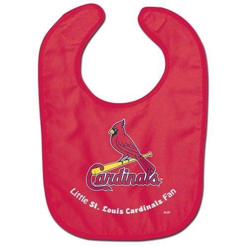 ST LOUIS CARDINALS ALL PRO BABY BIB VELCRO CLOSURE TEAM LOGO MLB BASEBALL