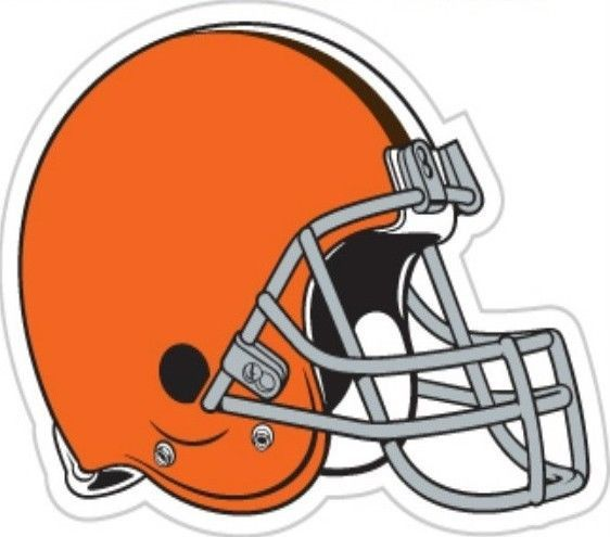 "CLEVELAND BROWNS *BIG* 12"" MAGNET for CAR AUTO FRIDGE METAL NFL FOOTBALL"