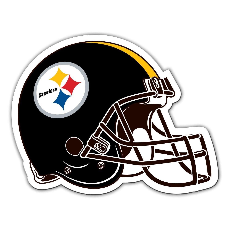 "PITTSBURGH STEELERS 12"" NFL FOOTBALL HELMET MAGNET for CAR AUTO FRIDGE METAL #1"