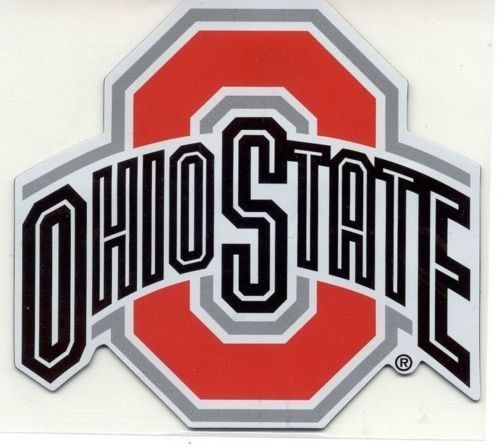 "OHIO STATE BUCKEYES *BIG* 12"" MAGNET for CAR AUTO FRIDGE REFRIGERATOR METAL"