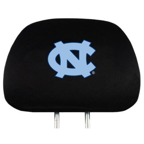 NORTH CAROLINA TAR HEELS CAR AUTO 2 TEAM HEADREST COVERS NCAA