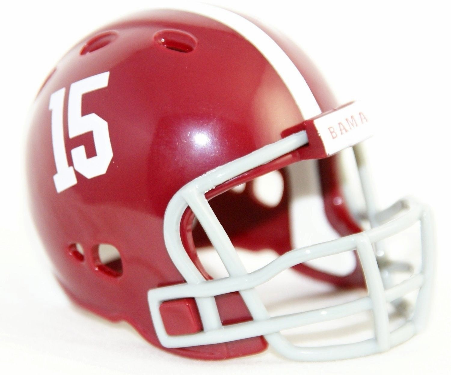 "ALABAMA CRIMSON TIDE POCKET PRO FOOTBALL HELMET 2"" SIZE  Made By RIDDELL!"