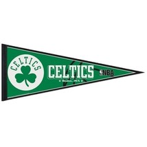 "2 BOSTON CELTICS TEAM FELT PENNANT 12""X30"" NBA BASKETBALL Ships FLAT in USA - $195,03 MXN"