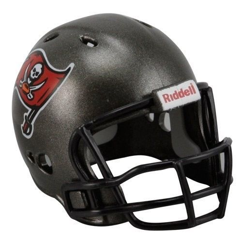 "2 TAMPA BAY BUCCANEERS POCKET PRO HELMET 2"" SIZE  Made By RIDDELL! NFL FOOTBALL"