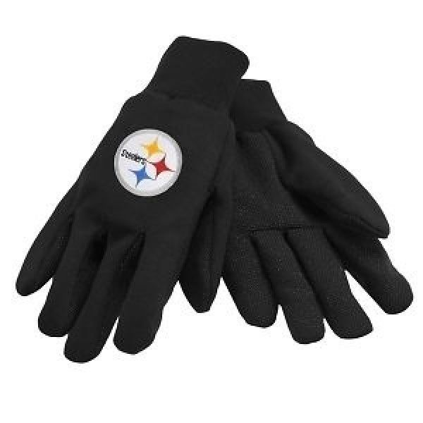 PITTSBURGH STEELERS TAILGATE GAME DAY PARTY UTILITY WORK GLOVES NFL FOOTBALL
