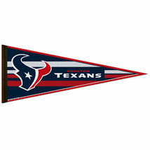 "2 BIG HOUSTON TEXANS TEAM FELT PENNANT 12""X30"" NFL FOOTBALL SHIPS FLAT i... - $229,10 MXN"
