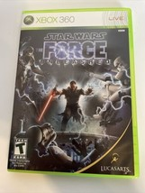Star Wars: The Force Unleashed (Microsoft Xbox 360, 2008)  Complete / Te... - $10.90