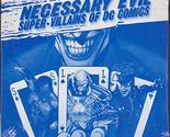 Necessary Evil, Super Villains of Dc Comics (DVD)