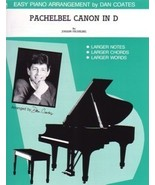 Pachelbel Canon In D Arranged by Dan Coates Easy Piano - $3.50
