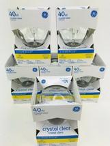 GE Lighting 12980 40-Watt 410-Lumen G25 Globe Light Bulbs, Crystal Clear - $21.33