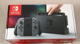 Nintendo Switch 32GB Gray Console Gray Joy-Con SHIPS TODAY GUARANTEED - $409.99