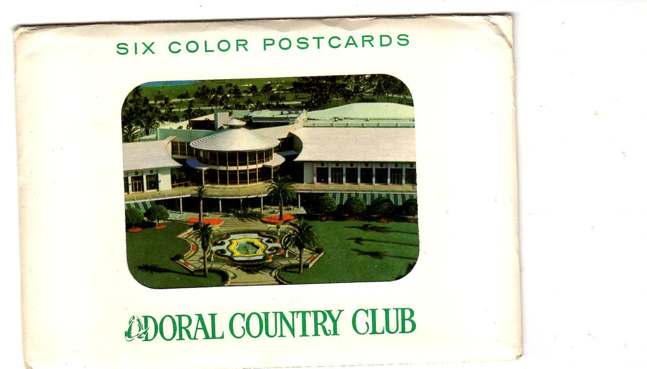 Primary image for Postcards -Doral Country Club , Miami, Florida  Set - of 6 Cards)