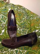 """Aerosoles By Aerology Port Chop Women's Brown Leather Soft Comfort Pumps 7.5M - $24.74"