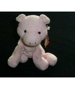 Russ Berrie & Co Stuffed Plush Pink Perky Pig Bean Bag Toy Chamois Small... - $49.49