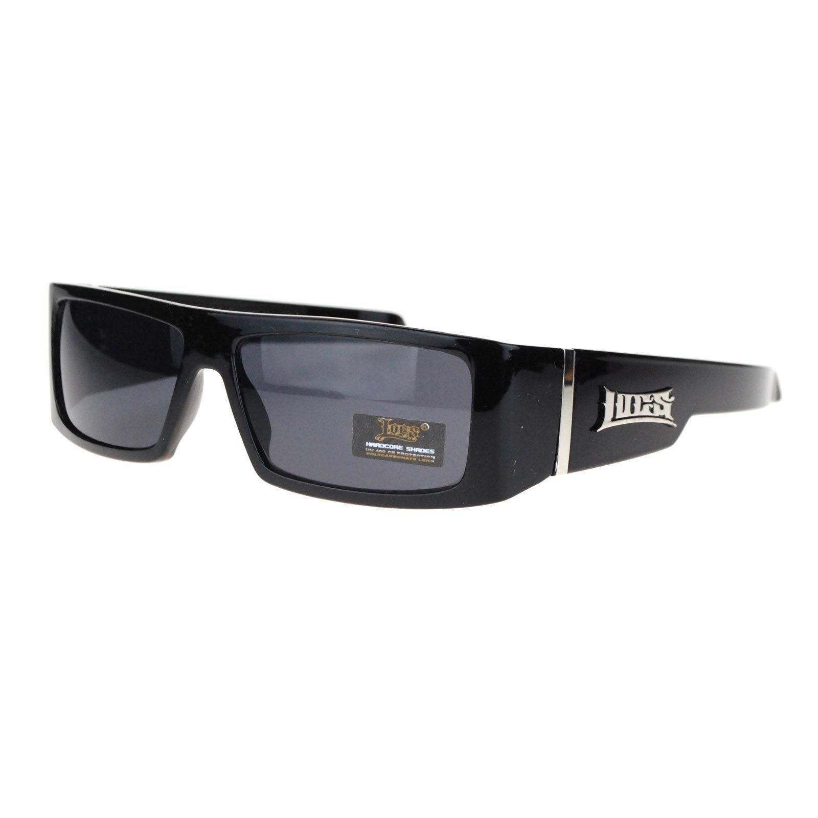 9469fe8d7e13 S l1600. S l1600. Previous. AUTHENTIC LOCS Men's Rectangular Gangster Style Sunglasses  BLACK. AUTHENTIC LOCS Men's ...