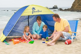 Shade Shack Instant Pop Up Family Beach Tent and Sun Shelter - $125.83 CAD