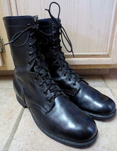 U.S. MILITARY COMBAT BOOTS SZ 12 REGULAR NEW/UNUSUED CONDITION MADE IN J... - $60.00