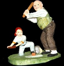 """""""Gramps at the Plate"""" by Norman Rockwell Figurine AA19-1664 Vintage image 1"""