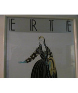 Vintage Rare 1980's Erte Don Juan Silver Foil offset Color Silver Serigr... - $349.99