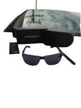 Porsche Design p8509 Sonnenbrille Dunkelblau Grau Gläser - $209.81