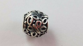 Retired PANDORA Butterfly Garden Dome Cutout Open Sterling Silver Charm ... - $19.79