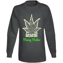 Money Maker 420 Canna Long Sleeve T Shirt image 3