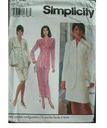 Simplicity Pattern 8732 Misses Skirt in 2 Lengths and Lined Jacket Size ... - $9.85