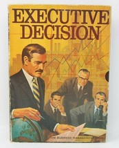 1971 Executive Decision Business Management Board Game 3M Bookshelf Complete - $39.11