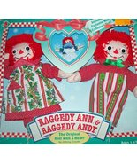 Raggedy Ann & Andy 75th Anniversary Doll Set - $34.16