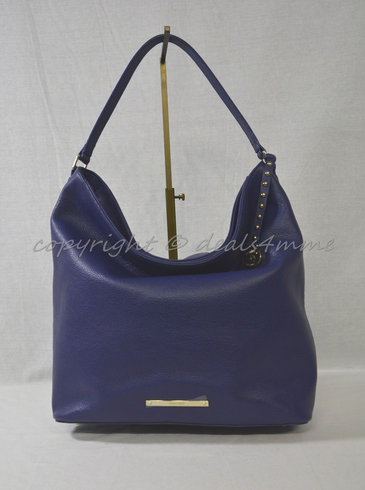 931dbe5e97 NWT! Brahmin Harrison Hobo Bag in Iris Nepal and 50 similar items