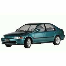 Hasegawa 1/24 Honda Civic Ferio Vti Plastic Model Car 20256 w/ Track# Ja... - $23.91